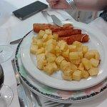 Rollitos de jamón y queso sin gluten