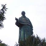 La statua del S:Carlone, patrono di Arona...