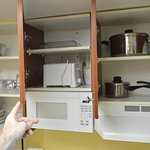 All the items in the upper cabinets of our kitchen
