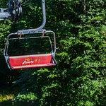 View from Snejanka ski-lift