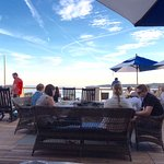 Casual dining on seaside deck at 1606 Beauport Hotel Restaurant