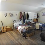 The cowboy's bunkroom.