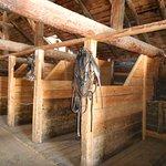 The heavy horse barn.