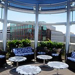 Summer Rooftop -Sky-Bar Circle Seating