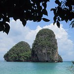 Limestone islands at Railay West