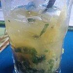 Pinapple mojito. Damn good