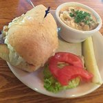 Holy Cow roast beef & seafood chowder