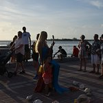 Entertainment at Mallory Square