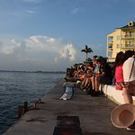 Waiting for the sunset at Mallory Square