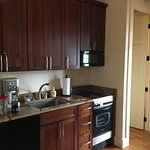 """Greek Revival"" kitchenette"