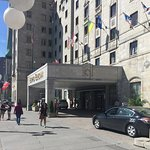 Outside the Lord Elgin