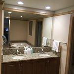 Master Bathroom,Double sinks, Granite top