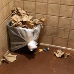 How often does an employee check the restrooms? If public areas look like this, how is the kitch