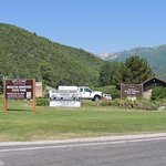 Wasatch Mountain Park entrance quarter mile north