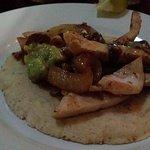 Flavorless chicken fajitas - as boring as it looks
