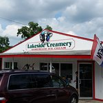 Lakeside Creamery in Deep Creek Lake, Maryland