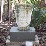 sculpture around area