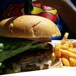 Crawfish and Burger
