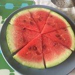 Watermelon wheel/pizza