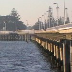 Busselton Jetty looking toward foreshore