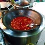 huge periuk (cooking pot)