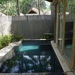 Our personal plunge pool - Created romantic memories.