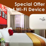 Butterfly on Wellington - Deluxe Room with 4G Pocket Wifi Device