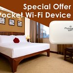 Butterfly on Wellington - Executive Room with 4G Pocket Wifi Device