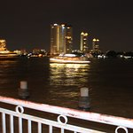 skylines across the bangkok river