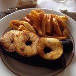 Boudin noir aux pommes cuites un régal!!!!