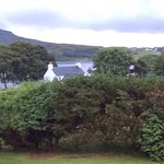 View fro B&B in Portree