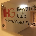 IHG Preferred Guest Floor