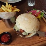 The Sussex burger, fantastic