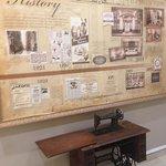 Old Singha Sewing Machine display