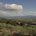 "Panorama dal camping ""Fontemaggio"""