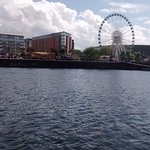 Next to the Albert Dock and the Liverpool Eye