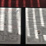 Pretty nice breakfast menu. This was only the first pages then waitress came and I could not get