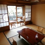 Japanese style room with balcony