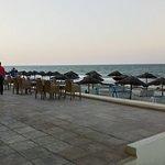 Пляж и место вечерноего отдыха