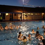 Midnight swims each Wednesday in high season