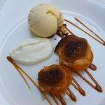 Une saveur d'abricots en dessert