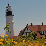 Beautiful lighthouse and surroundings
