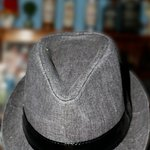 the hat in the bar