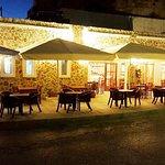 Maistrali - Restaurant's stone front view.