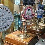 We have a wide range of guest beers