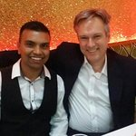 Member of  Parliament Crawley Henry Smith visit to Blue India High Street