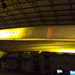 The slideshow at the end on the body of the Concorde.