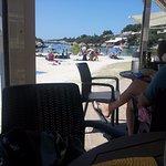 El comedor de la playa