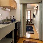 The Sinnot Suite Kitchenette