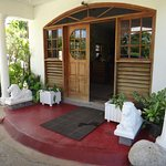 This is the entrance to the guest house.